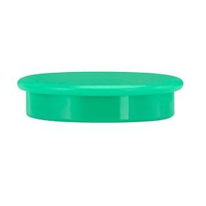 10 neutral   Magnete grün Ø 3,2 x 0,73 cm