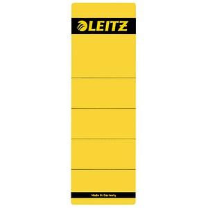 10 LEITZ Ordneretiketten 1642 gelb für 8,0 cm Rückenbreite