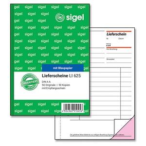 SIGEL Formularbuch LI625 Lieferschein mit Empfangsschein