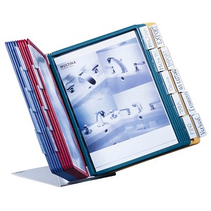 DURABLE Sichttafelsystem VARIO DIN A4 farbsortiert mit 20 St. Sichttafeln