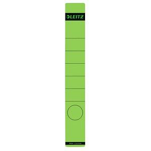 10 LEITZ Ordneretiketten 1648 grün für 5,2 cm Rückenbreite