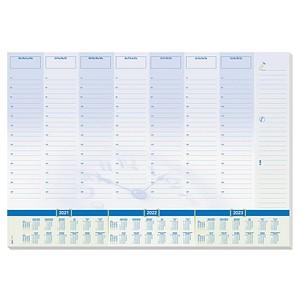 SIGEL Schreibtischunterlage Time blau/grün 30 Blatt