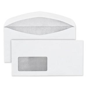 BONG Briefumschläge DIN lang mit Fenster weiß 1.000 St.
