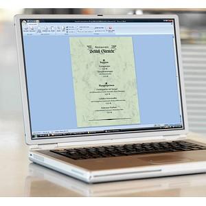 SIGEL Motivpapier Marmor pastellgrün DIN A4 90 g/qm 100 St.