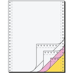 SIGEL Endlospapier A4 hoch 4-fach, 60 g/qm weiß 500 Blatt