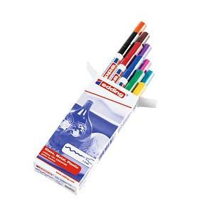 10 edding 751 creative Lackmarker farbsortiert 1,0 - 2,0 mm