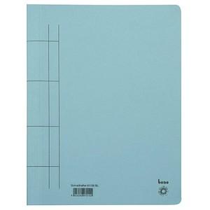 25 bene Schnellhefter Karton blau DIN A4