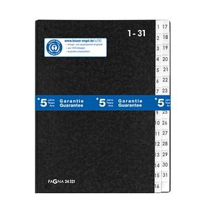 PAGNA Pultordner 1-31 schwarz
