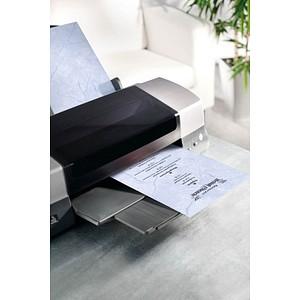 SIGEL Motivpapier Granit blau DIN A4 90 g/qm 100 Blatt