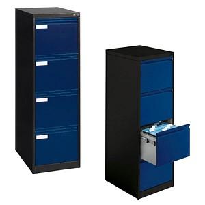 CP C 2000 Acurado Hängeregistraturschrank blau/grau 4 Schubladen