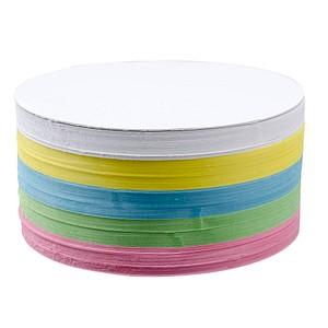 Moderationskarten farbsortiert 20,0 x 11,0 cm