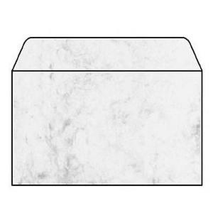 25 SIGEL Motivbriefumschläge Marmor DIN C5 ohne Fenster