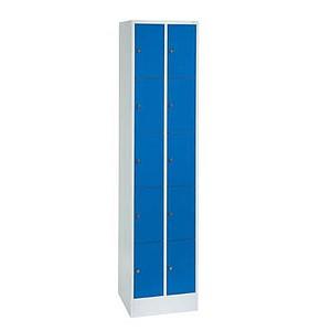 CP Schließfachschrank blau/grau