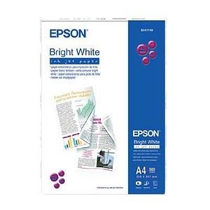 EPSON Inkjetpapier Bright White InkJet Paper DIN A4 90 g/qm 500 Blatt