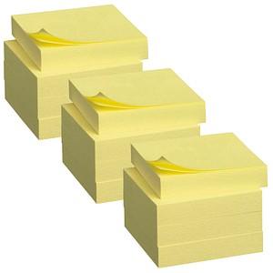 Post-it® Haftnotizen Standard 653 gelb 12 Blöcke