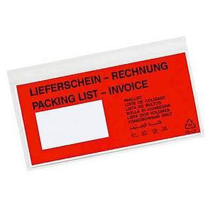 250 office discount Lieferscheintaschen Kunststoff DIN lang