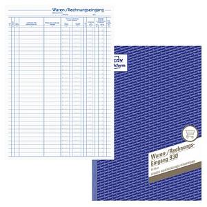 AVERY Zweckform Formularbuch Waren-/Rechnungs-Eingangsbuch