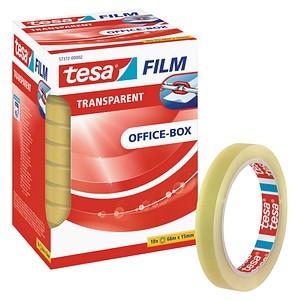 tesa tesafilm® Klebefilm transparent 15,0 mm x 66,0 m 10 Rollen