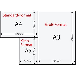 Rainbow Kopierpapier COLOURED PAPER hellblau DIN A4 160 g/qm 250 Blatt