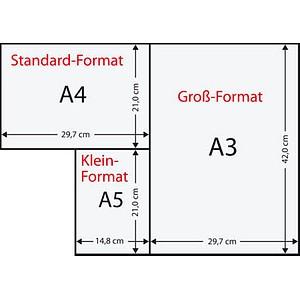 Rainbow Kopierpapier COLOURED PAPER rosa DIN A4 120 g/qm 250 Blatt