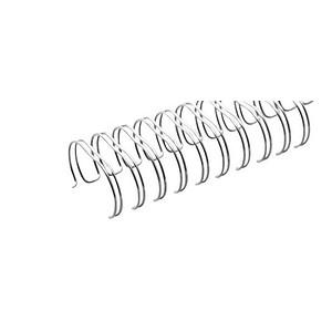 100 RENZ Drahtbinderücken   silber