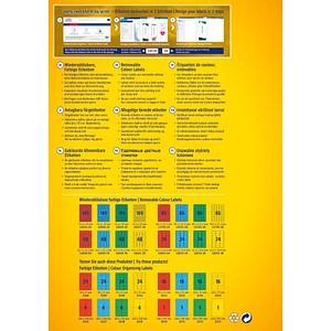 3.780 AVERY Zweckform Etiketten L6037-20 gelb