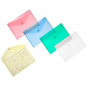 10 FolderSys Dokumententaschen farbsortiert glatt