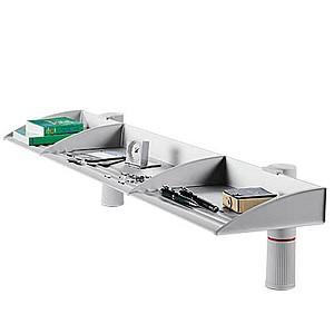 novus Briefablagen-System BoardMaster lichtgrau