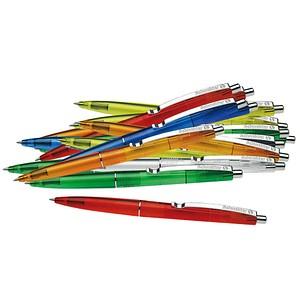 20 Schneider Kugelschreiber K20 - Icy Colours farbsortiert Schreibfarbe blau