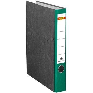 office discount Ordner grün marmoriert Karton 5,0 cm DIN A4