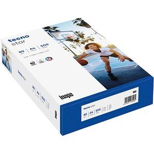 tecno Kopierpapier star DIN A4 80 g/qm 500 Blatt