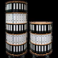 Ordnerdrehsäulen