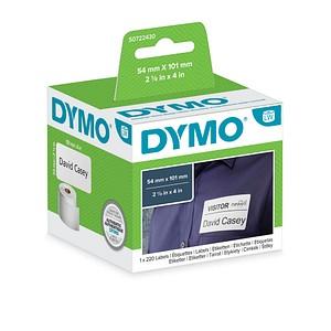 220 DYMO Etiketten S0722430 weiß