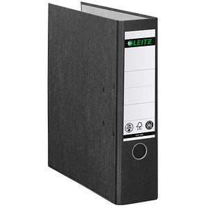 LEITZ 1080 Ordner schwarz marmoriert Karton 8,0 cm DIN A4
