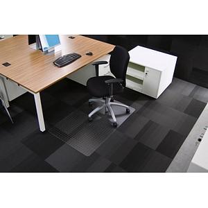 Rollsafe Bodenschutzmatte für Teppichböden rechteckig, 90,0 x 120,0 cm