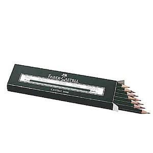 FABER-CASTELL 9000 Bleistifte B 12 St.