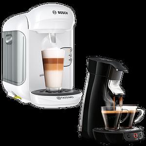 Kaffeepadmaschinen & Kapselmaschinen