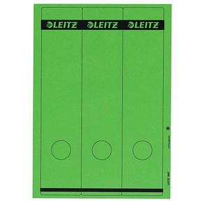 75 LEITZ Ordneretiketten 1687-55 grün für 8,0 cm Rückenbreite