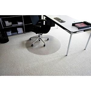 Rollt & Schützt Bodenschutzmatte für Teppichböden rund, 60,0 x 60,0 cm