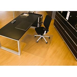 Rollsafe Bodenschutzmatte für glatte Böden rechteckig mit Lippe lange Seite, 120,0 x 150,0 cm