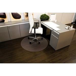 Rollt & Schützt Bodenschutzmatte für glatte Böden rund, 60,0 x 60,0 cm