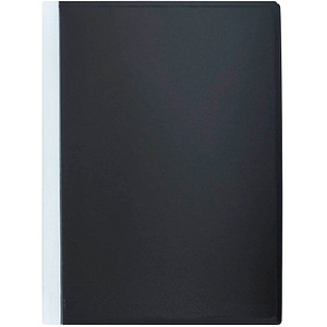 FolderSys FolderSys® Sichtbuch schwarz mit 40 Hüllen