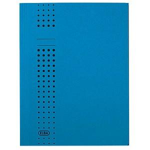 25 ELBA Sammelmappen chic DIN A4 blau