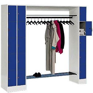 CP Garderobe blau/grau