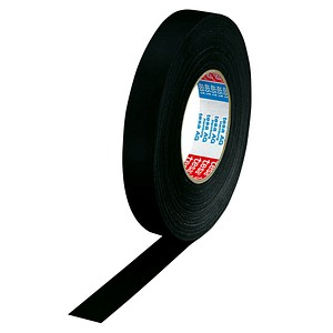tesa extra Power® Perfect Gewebeband schwarz 25,0 mm x 50,0 m 1 Rolle