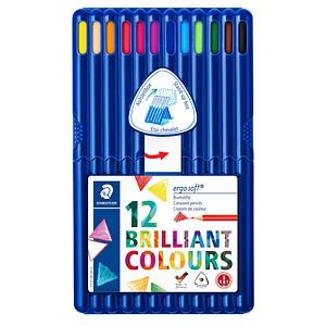 12 STAEDTLER ergosoft® Buntstifte farbsortiert