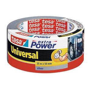 tesa extra Power® Universal  Gewebeband silber 50,0 mm x 25,0 m 1 Rolle