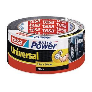 tesa extra Power® Universal  Gewebeband schwarz 50,0 mm x 25,0 m 1 Rolle