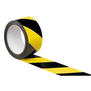SUPRA Warnklebeband   schwarz/gelb 50,0 mm x 66,0 m 1 Rolle
