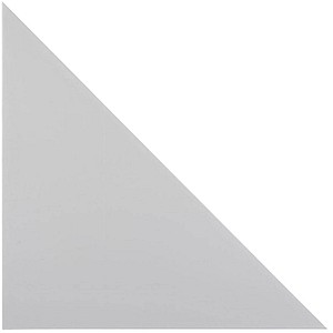 HAMMERBACHER   Altus Verbindungsplatte grau dreieckig